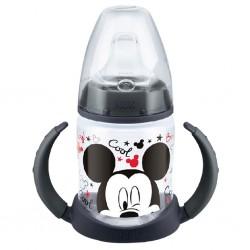 Kojenecká láhev na učení NUK Disney Mickey 150 ml černá, Černá