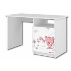 BabyBoo Psací stůl - Medvídek STYDLÍN růžový