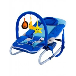 Dětské lehátko CARETERO Astral blue, Modrá