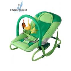 Dětské lehátko CARETERO Astral green, Zelená