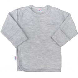 Kojenecká košilka New Baby Classic II šedá, Šedá, 50