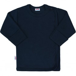 Kojenecká košilka New Baby Classic II tmavě modrá, Modrá, 50