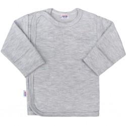 Kojenecká košilka New Baby Classic II šedá, Šedá, 62 (3-6m)