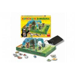 Krtečkova zahrádka společenská hra v krabici 33x23x4cm