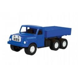 Auto nákladní Tatra 148 valník plast 30cm modrá v krabici 35x18x13cm