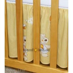 Krásný volánek pod matraci - Balónek medový