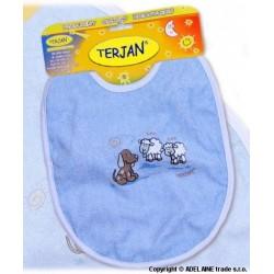 Bryndáček TERJAN - velký - modrý