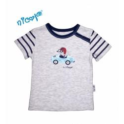Bavlněné tričko Nicol, Car - krátký rukáv