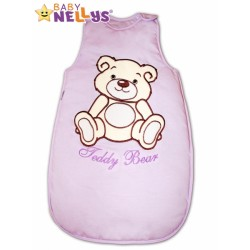 Spací vak TEDDY BEAR Baby Nellys - lila vel. 0+