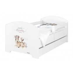 BabyBoo Dětská postel 160 x 80cm -  Sweet Dreams + ŠUPLÍK