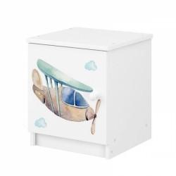 BabyBoo Noční stolek - Letadlo
