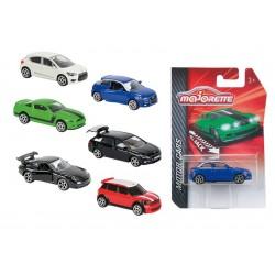 Auto kovové Street Cars, 18 druhů