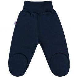 Kojenecké polodupačky New Baby Classic II tmavě modré, Modrá, 50