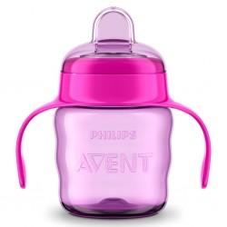 Kouzelný hrneček Classic Avent 200 ml dívka, Růžová