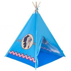 Dětský indiánský stan PlayTo modrý, Modrá