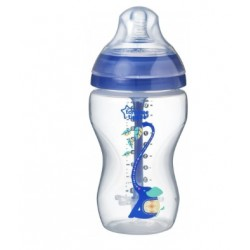 Antikoliková lahvička 260 ml Advanced Boy - modrá