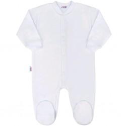 Kojenecký overal New Baby Classic bílý, Bílá, 56 (0-3m)