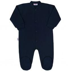 Kojenecký overal New Baby Classic II tmavě modrý, Tmavě modrá, 50