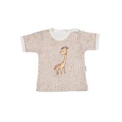 Tričko kr. rukáv - Žirafka