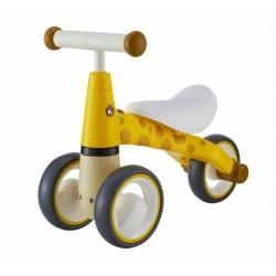 Odrážedlo/tříkolka Eco Toys, Žirafka  - žlutá