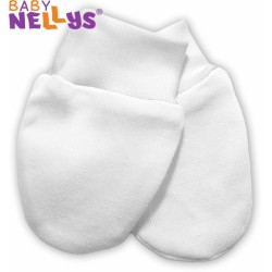 Kojenecké rukavičky Baby Nellys ® - bílé