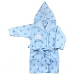 Dětský župan Koala Be Happy modrý, Modrá, 110 (4-5r)