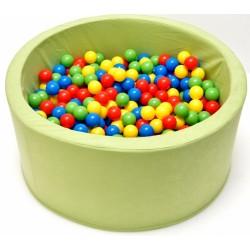 Bazén, bazének pro děti 90x40cm kruhový tvar + 200 balónků.