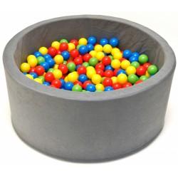 Bazén pro děti 90x40cm kruhový tvar + 200 balónků.