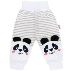 Kojenecké tepláčky New Baby Panda, Šedá, 68 (4-6m)