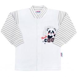Kojenecký kabátek New Baby Panda, Šedá, 56 (0-3m)