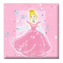 Ubrousek párty - princezna, 12 ks
