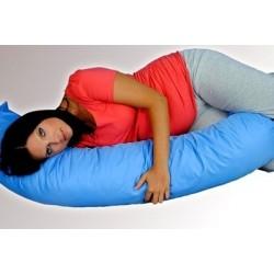 Kojící polštář - relaxační poduška RELAX DELUXE modrá/sv.modrá