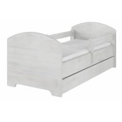 Dětská postel HELI v barvě norské borovice s šuplíkem + matrace zdarma