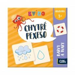 Albi Chytré pexeso - Objevitel, barvy a tvary