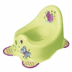 Nočník Hippo s protiskluzem - limetka