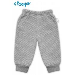 Tepláčky/kalhoty Football - šedé se stahovkou