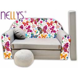 Rozkládací dětská pohovka Nellys ® 63R