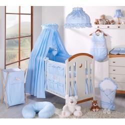 Nebesa lux z celé látky - Snílek modrý
