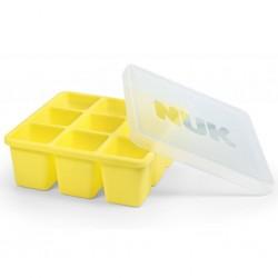 Mrazící formička silikonová NUK žlutá, Žlutá