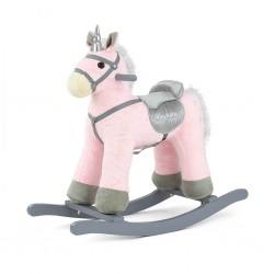 Houpací koník Milly Mally PePe růžový, Růžová