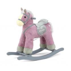Houpací koník Milly Mally PePe fialový, Fialová
