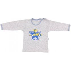 Bavlněné tričko Four - dlouhý rukáv