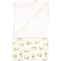 Dětská deka, dečka Dog 80x90 - Minky/bavlna