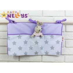 Praktický kapsář na postýlku Baby Nellys ® - č. 05