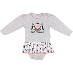 Bavlněné sukničkobody Penguin - dlouhý rukáv