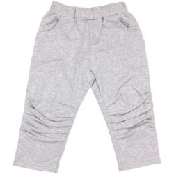 Bavlněné tepláčky, kalhoty Four - šedé