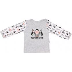 Bavlněné tričko Penguin - dlouhý rukáv