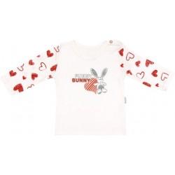 Bavlněné tričko Heart - dlouhý rukáv