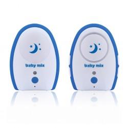 Digitální dětská chůvička Baby Mix blue, Modrá