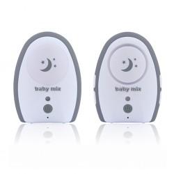 Digitální dětská chůvička Baby Mix grey, Šedá